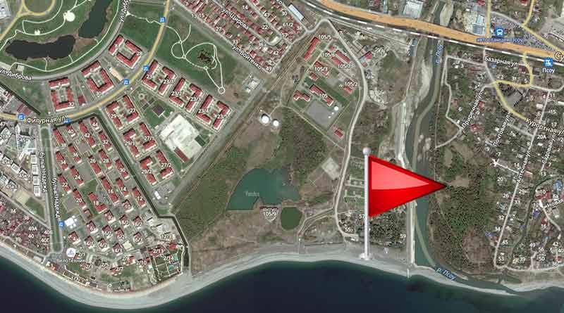 Самый южный пляж России