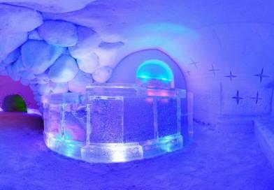 Галерея ледовых скульптур в Апатитах стала рекордсменом России