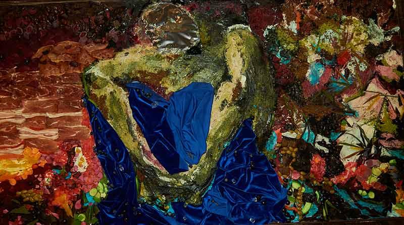 Картина Михаила Врубеля из продуктов