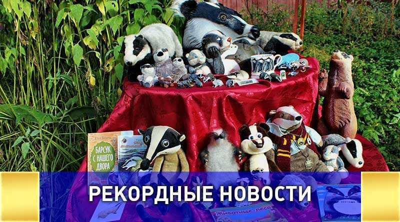 Самую большую в мире коллекцию барсуков планирует собрать жительница Подмосковья