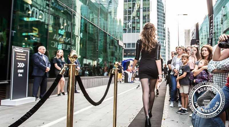 Самый длинный в мире подиум